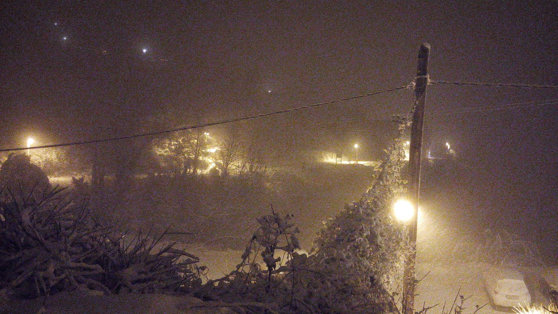 Χιονισμένα Τρίκαλα Κορινθίας 31/12/2015